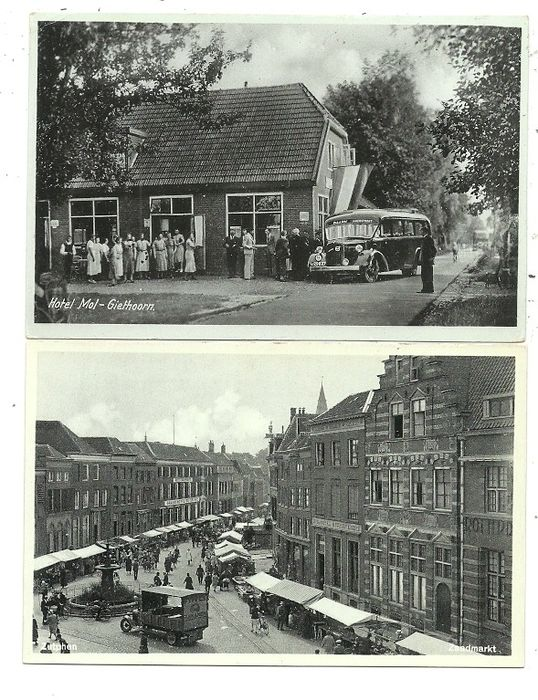Postcards Gelderse Villages and Cities (123x) (Collection) - 1930-1960