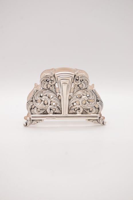 Napkin holder - .925 silver - Israel - Mid 20th century