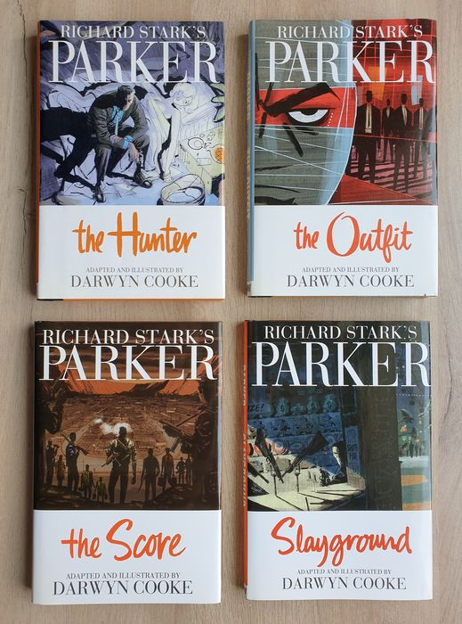 """Richard Stark's PARKER * Adapted by DARWYN COOKE * - HARD-BOILED PULP FICTION * RETRO COOL! * Exclusive """"Scar Face"""" Volume 1 * - Tapa dura - Primera edición - (2009/2013)"""