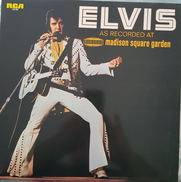 Elvis Presley & Related - As Recorded At Madison Square Garden , Elvis & In Person A the International Hotel - Multiple titles - LP's - 1972/1972