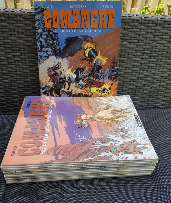 Comanche 1 t/m 15 + 1 - Complete reeks - 1x buitenreeks - Softcover - Different editions - (1980/2002)