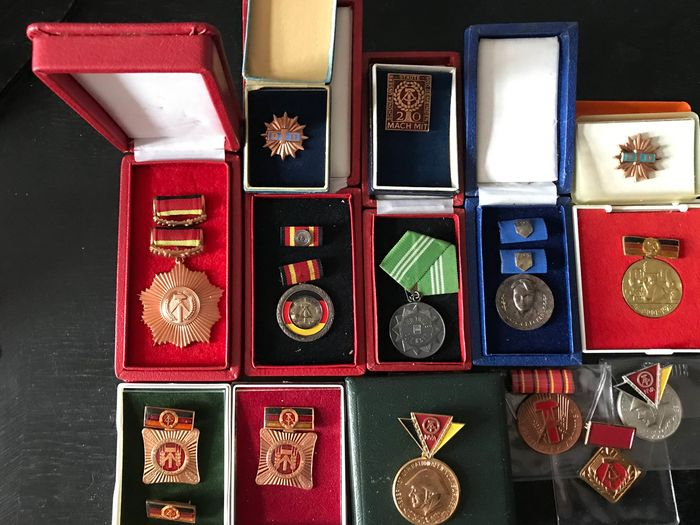 Germany - Various - Medals and badges