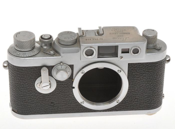 """Leitz  Leica IIIG 956315 c.1959 it """"works"""" but it's in bad condition"""