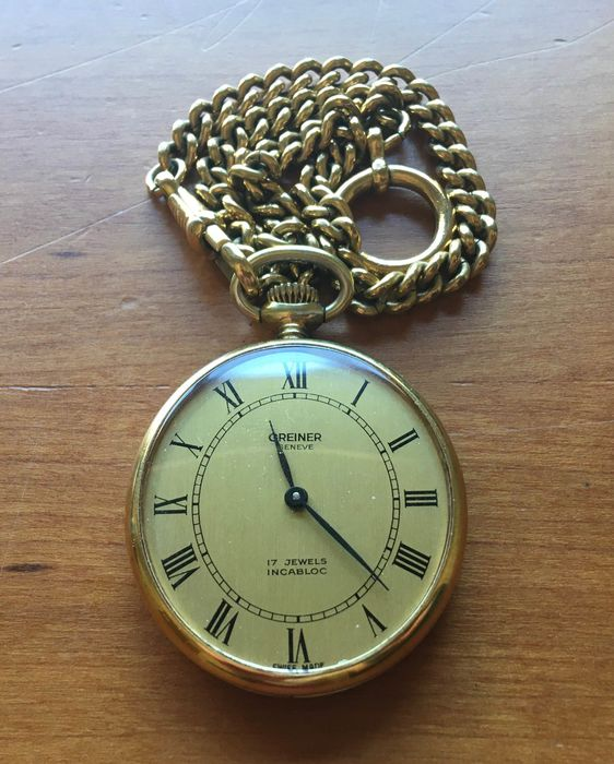Greiner - pocket watch - Men - 1950-1959
