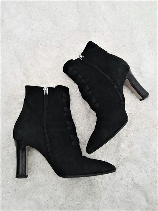 Emporio Armani - Suede Ankle Boots Ankle boots - Size: EUR 37