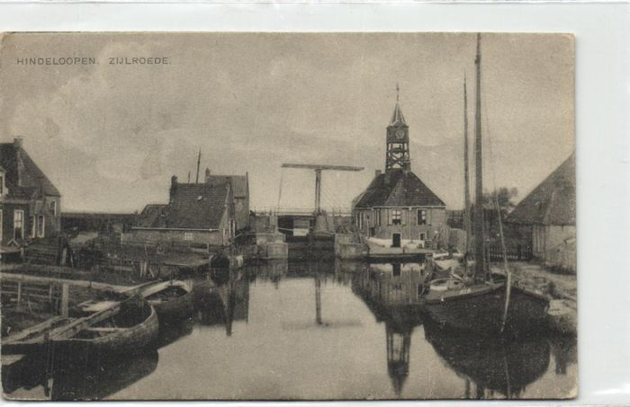 Netherlands - Hindelopen (Fr) - Various streets, sights and costumes - Postcards (Collection of 60) - 1900-1960