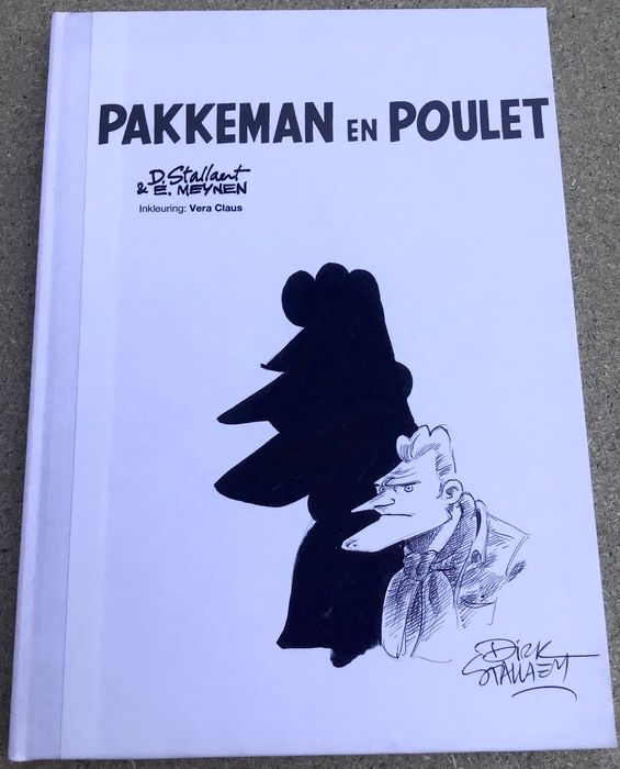 Pakkeman en Poulet - Originele cover - Adhemar luxe uitgave - Hardcover - First edition (2013)