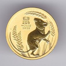 Australië. 15 Dollars 2020 - Year of the Mouse