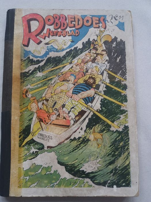 Robbedoes (magazine) - nummer 11 - Hardcover - First edition - (1942)