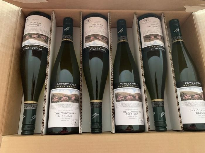 2012 PEWSEY Riesling 'the Contours'  Museum Collection  - Eden Valley - 6 Flessen (0.75 liter)