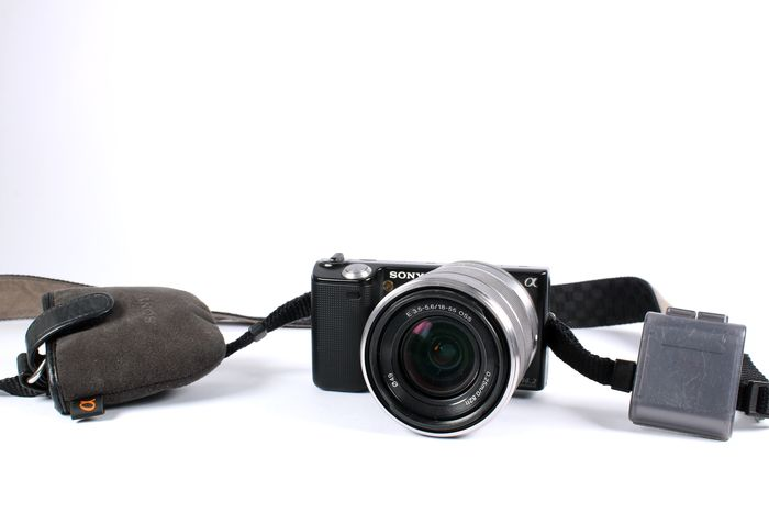Sony NEX 3 body met Sony E 18-55mm f/3.5-5.6 OSS