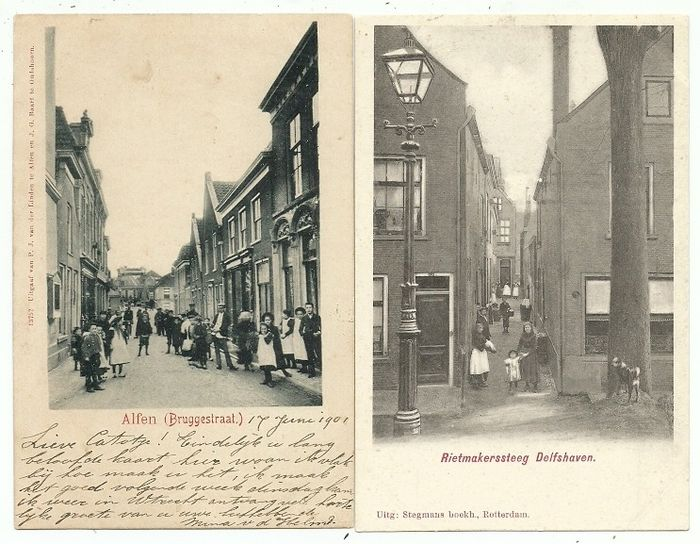 Netherlands - Villages and cities in South Holland - Postcards (Collection of 42) - 1899-1927