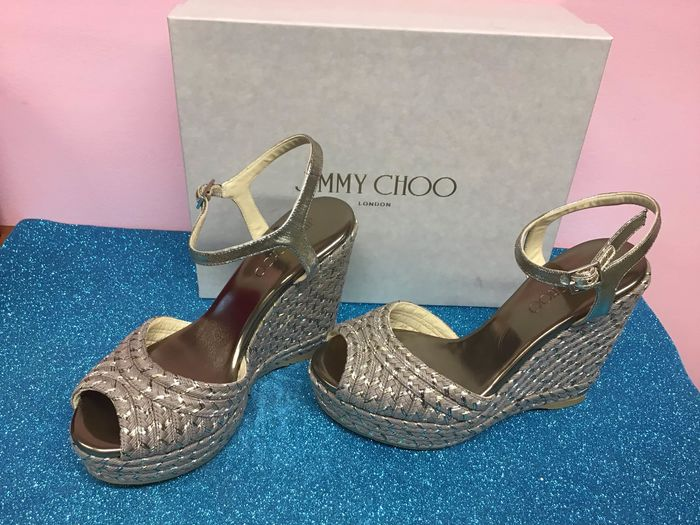 Jimmy Choo sandals with wedges - Size: IT 38