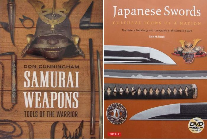2 Books : Samurai Weapons  +  Japanese Swords (2) - . - Japan - 2008-2010