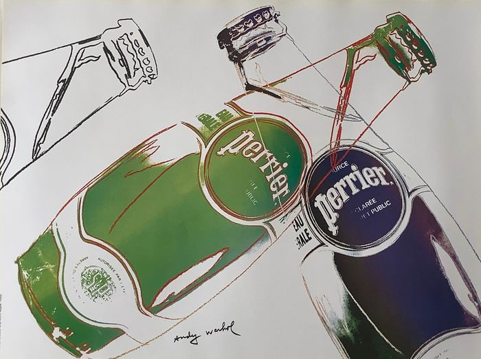 Andy Warhol - Source Perrier - 1983