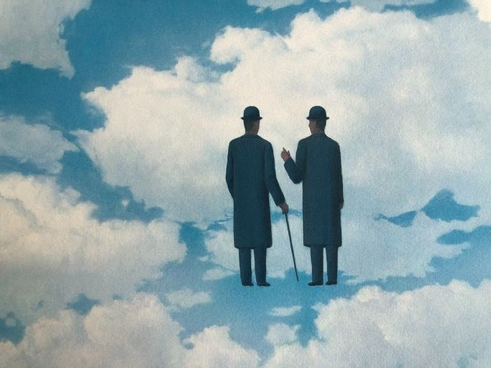 Rene Magritte (after) - The infinite recognition