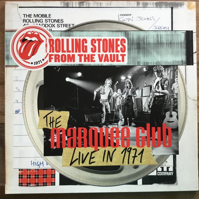 The Rolling Stones - From The Vault: The Marquee – Live In 1971 - LP + DVD - 2015/2015
