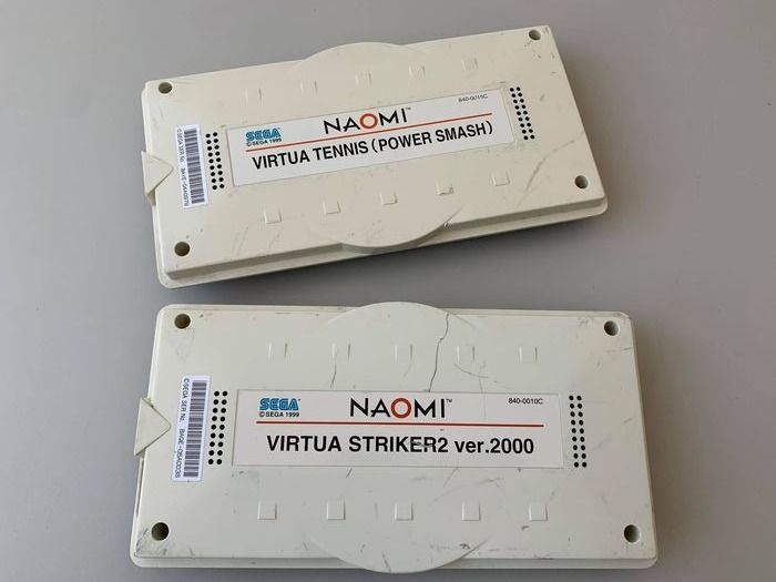 Sega Virtua Tennis (Power Smash), Virtua Striker2 Ver.2000 Naomi - Video games (2) - Opprinnelig
