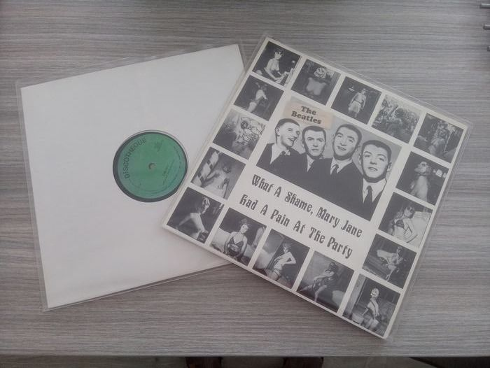 "Beatles - What a shame, Mary Jane had a pain at the party (very rare) & The 70's (very rare) - Maxi single 12""inch - 1979/1979"