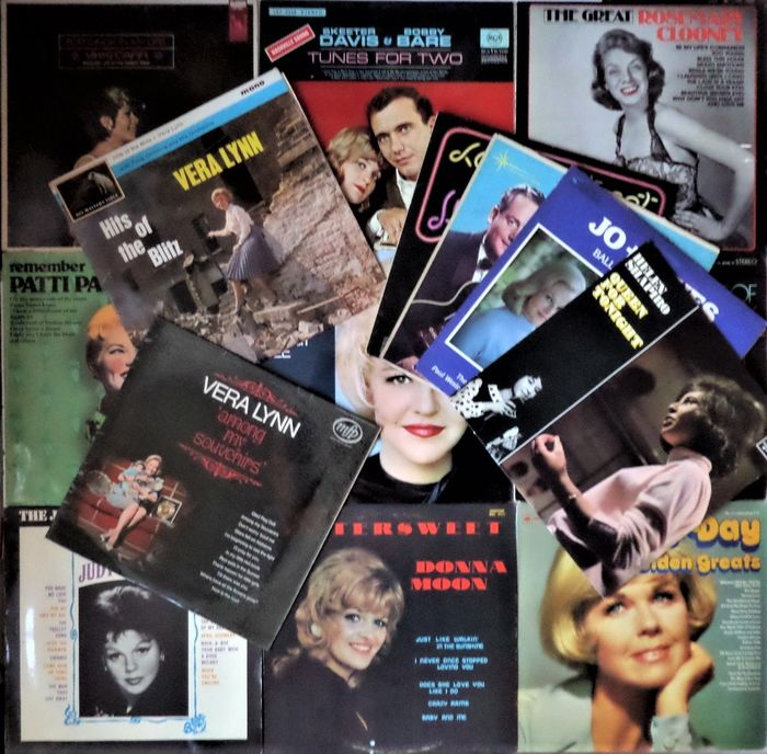 Helen Shapiro, Vera Lynn, Peggy Lee and many others - Multiple artists - Lot of fifteen nice records with the ladies of the 50's and 60's - Multiple titles - LP's - 1962/1978