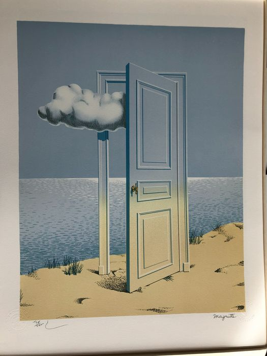 Rene Magritte (after) - The Victory