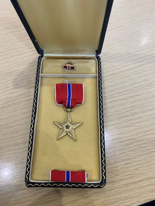 USA - Medal, Bronze star in its original box