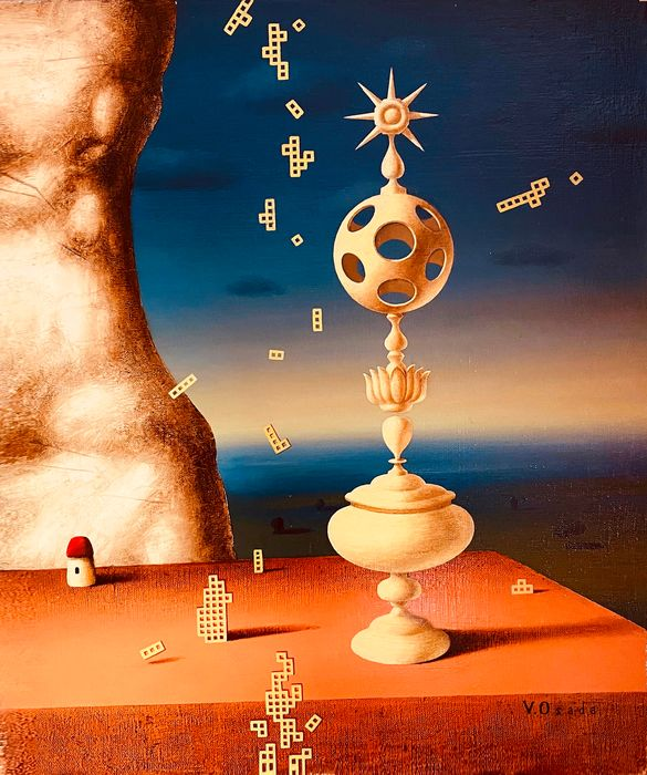 Vincento Osada - Jidsaw puzzles falling from heaven.