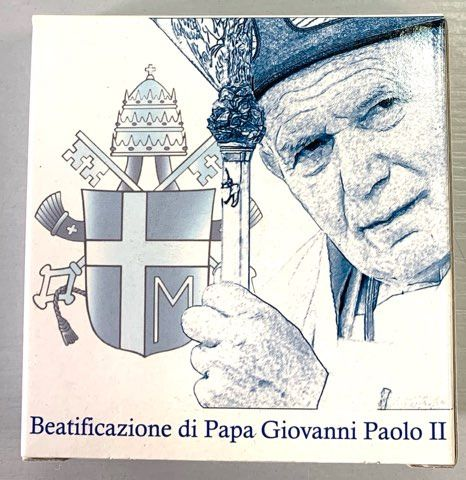Vatikan. 5 Euro 2011 Proof- Pape Jean Paul II
