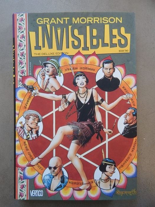 Grant Morrison - The Invisibles - Deluxe edition Book Two - hc met wikkel - Hardcover - 1st edition - (2014)