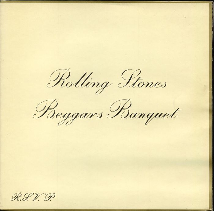 "Rolling Stones - ""Beggars Banquet"" original unboxed in perfect condition - LP Album - 1968/1968"