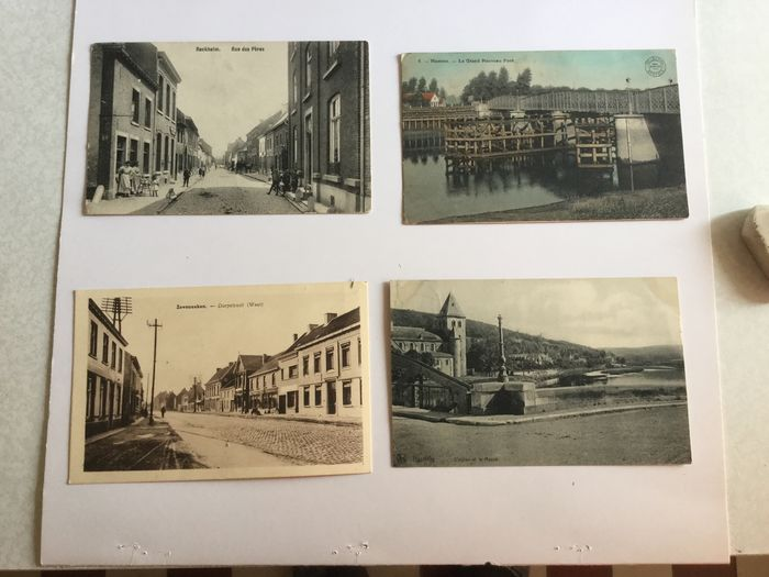Belgium - Streets, hotels, nice animation, nice corners - Postcards (Collection of 112) - 1902