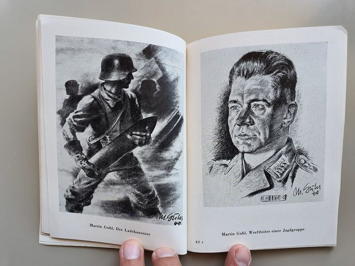"""Germany - Sketchbook: """"Kriegszeichner"""" based on private drawings of war reporters"""