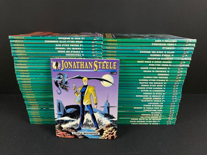 Jonathan Steele nn. 1/64 - Serie completa - Softcover - First edition - (1999/2004)