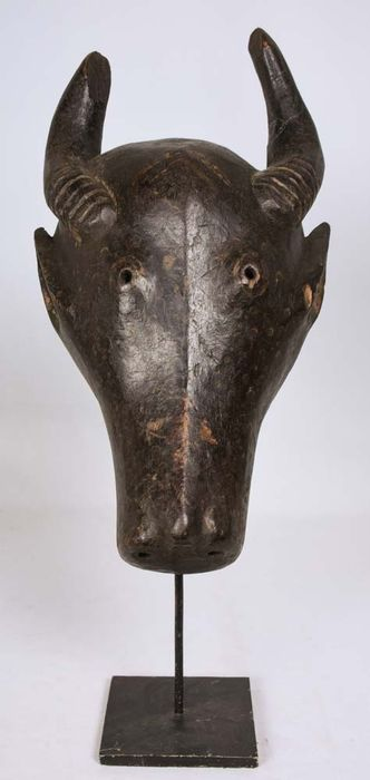 Buffalo mask - Wood - Bamileke - Cameroon