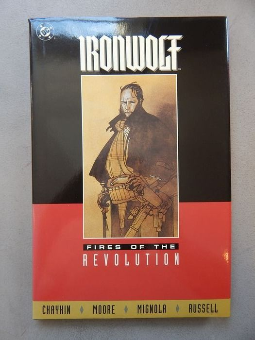 Ironwolf - Fires of the Revolution - Deluxe edition Book  - hc met wikkel - Hardcover - 1st edition - (1993)