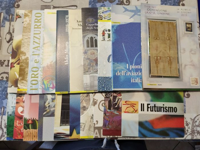 Italien Republik 2003/2014 - Lot of 22 folders - Sassone