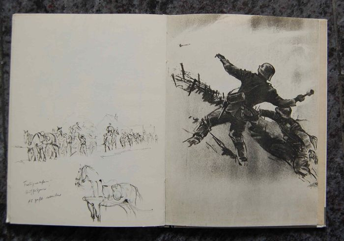 Germany - World War II France Wehrmacht Draw - Book, rare color photographs - 1941