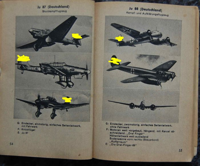 Germany - Book, German, Italian, British-American and Soviet WAR PLANES - 1942