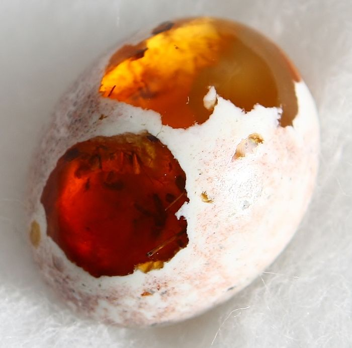 Fire Opal, Matrix Without Reserve Price - 6.17 ct