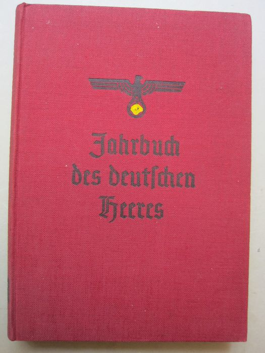 Germany - Wehrmacht, Army - Book, RARE! Lot of 2 books, Yearbook of the German Army 1937, illustrated book  1937 - 1937