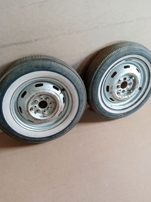 Wheels and tires - Fiat, Fiat 1100