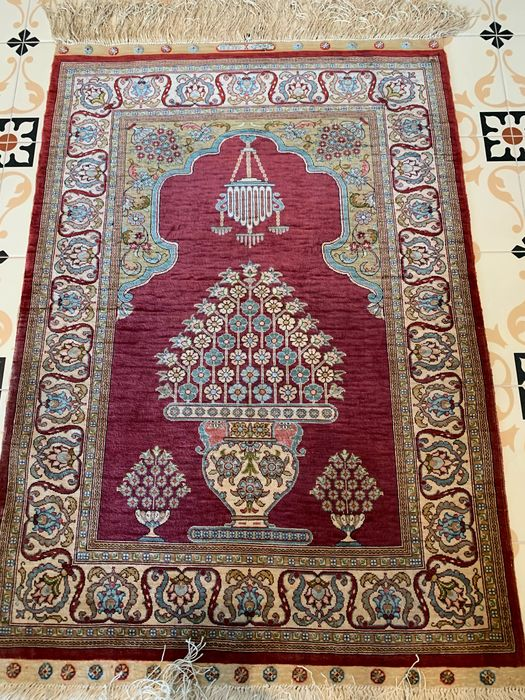 Hereke - Carpet - 112 cm - 65 cm