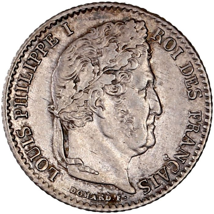 France - Louis Philippe I - 1/4 Franc 1834-W (Lille) - Silver