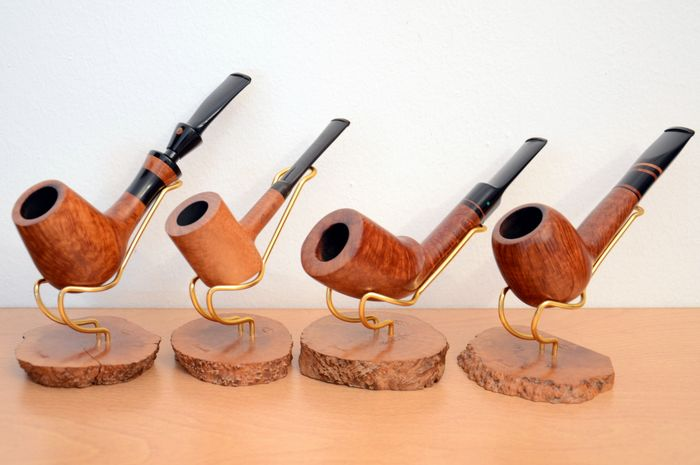 PARONELLI Pipe / TOM (Tommaso) SPANU - Pipe - Group of 4