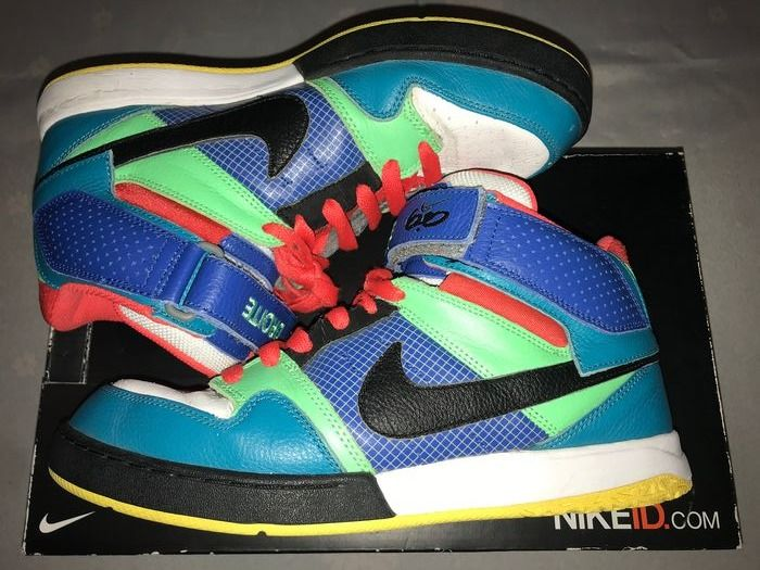 NIKE - TOY STORY COLORS air Force basketball - Size: US 8