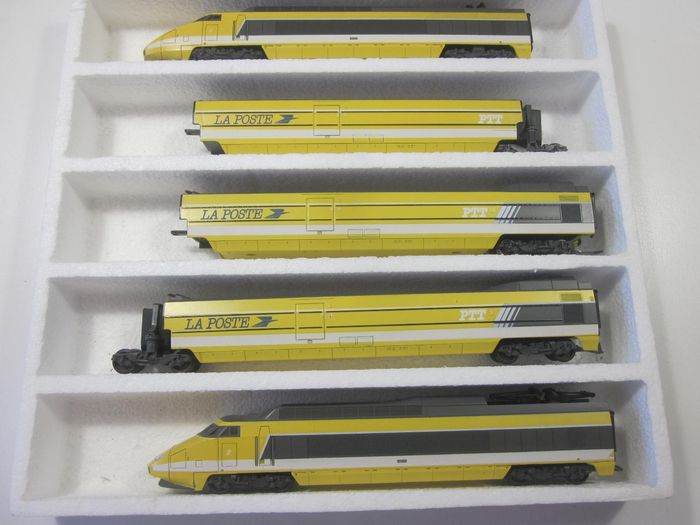 Lima H0 - 149710 - Train unit - 5 parts La Poste - SNCF