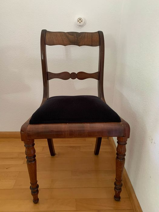 Dining chair (5) - Victorian Style - Mahogany - Second half 19th century
