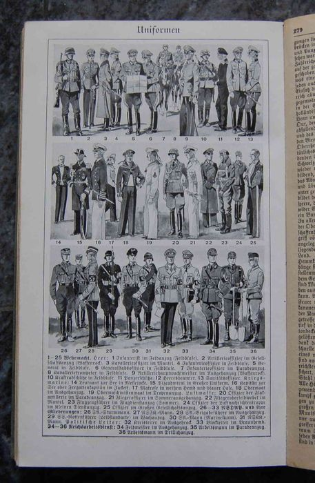 Germany - World War II 800 illustrations, uniforms war - Book, Encyclopedia of current affairs in 1940 - 1940