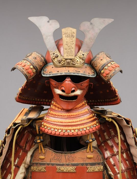 Yoroi - Lacquered Metal - Samurai - A Japanese vermillion lacquered ôyoroi suit-of-armor in very nice orignal condition - Japan - Taisho - Showa period