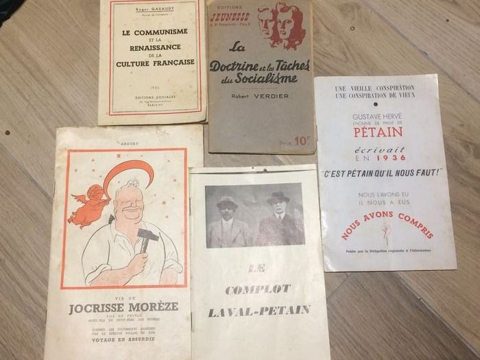 France - FFI (French resisitance) - Document - 1945